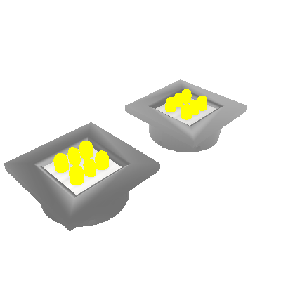 Kit 02 Luminárias com Botão (0061K)