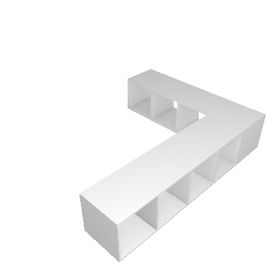 Nicho Multifuncional Dominox Branco - Belmax