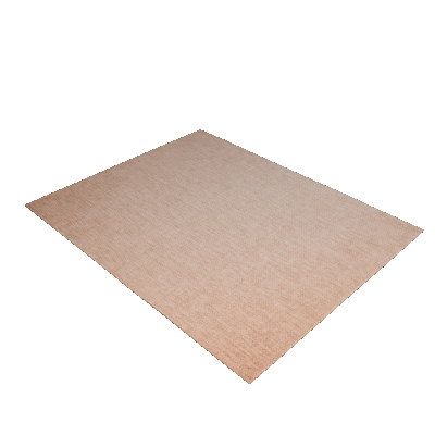 Tapete Liso Natural 200x250 cm Bege 1643 - Sisal