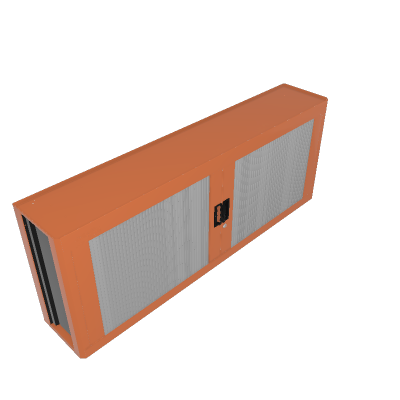 Panel para herramientas con persianas de PVC (44953/008)