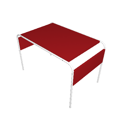 Escrivaninha Infantil Tutti Bambino Vermelha - I'M IN
