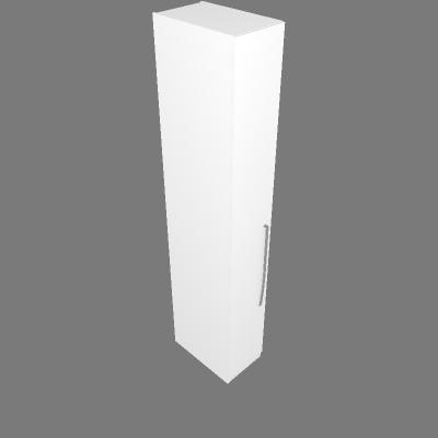 Armário 35cm 3 Prateleiras - Esq