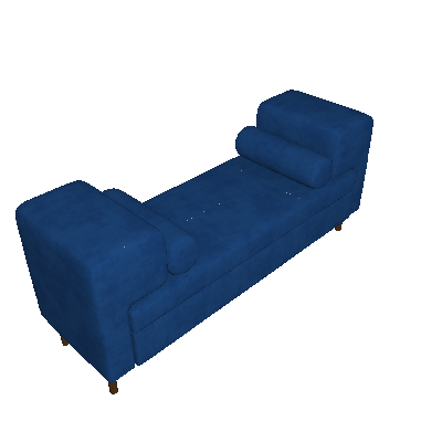 Recamier Turin Azul - Simbal
