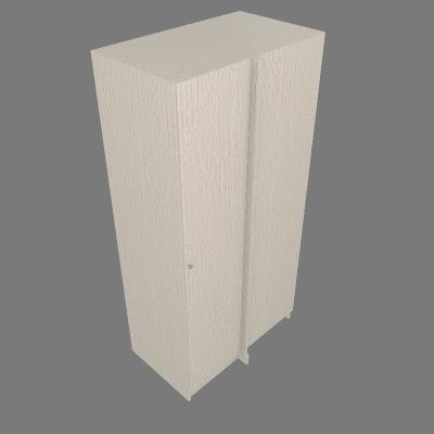 Blind Left Corner WO\ Molding (CLCWTM)