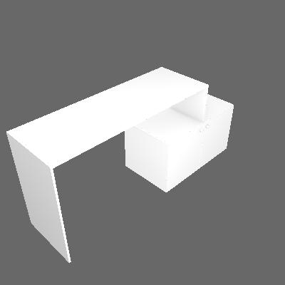 Escrivaninha Export 2 PT Branca