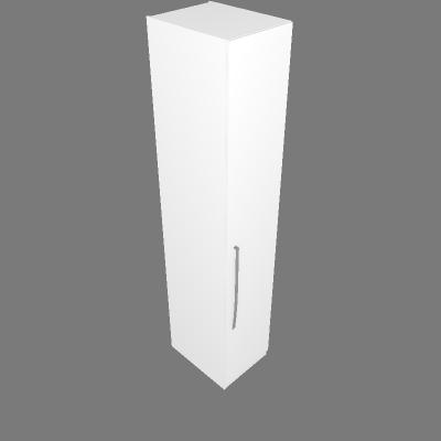 Armário 45cm Prateleira / 2 Cabideiros - Dir