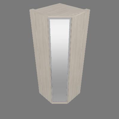 Canto Oblíquo 01 Porta de Espelho Diamante (M303)