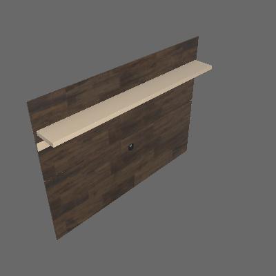 Painel para TV 70 polegadas Venezza 180cm Deck e Bege - HB Móveis