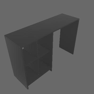 Escrivaninha Matrix Preto - Artely