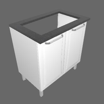 Gabinete 02 Portas (IG2A-80 5B)