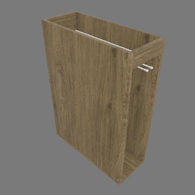 Balcão Porta Toalha 200 mm - Dir (C415)