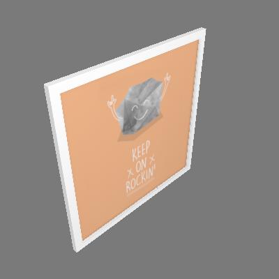 Quadro Rock Pequeno (3245BAR)