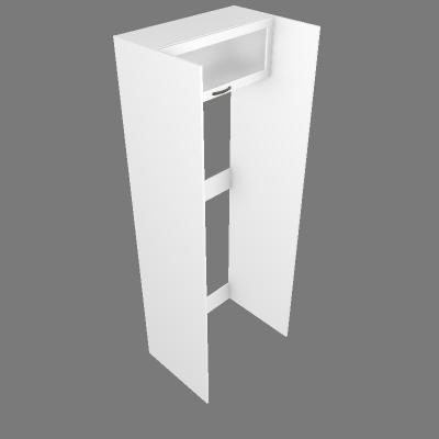 Torre Geladeira 80cm + Aéreo Vidro (G27081)