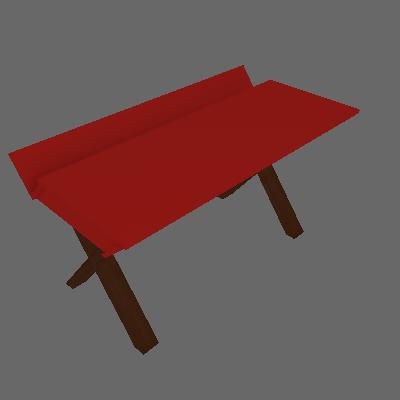 Escrivaninha Studio Cacau Vermelho - Maxima