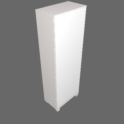 Sapateira Ágata 1 PT Branca - Gelius Móveis