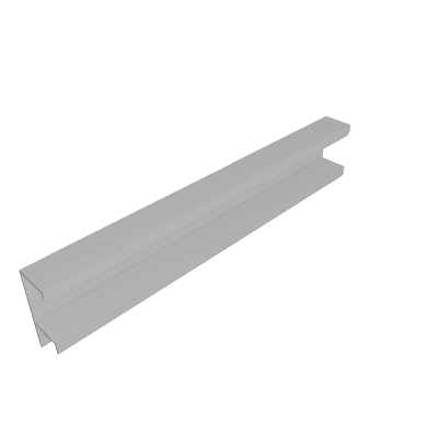 Puxador Alumínio Cantos Arredondados 195mm