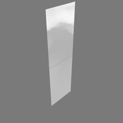 Kit 2 Espelhos Porta Correr
