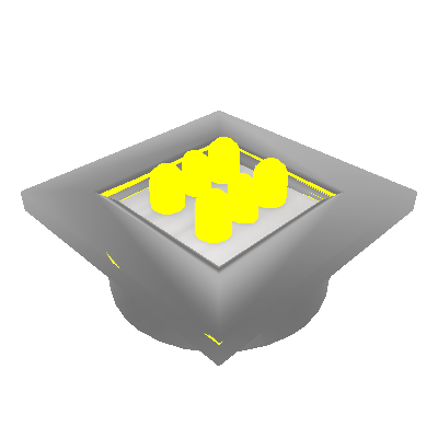Kit 01 Luminária com Botão (0060K)