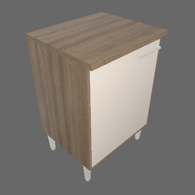 Balcão 1 Porta 60cm (4918)