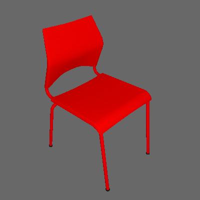 Cadeira Paladio Vermelho - I'M IN