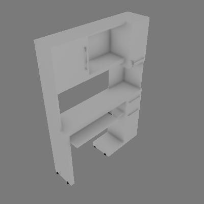 Mesa para Computador Everest Branca - Edn Móveis