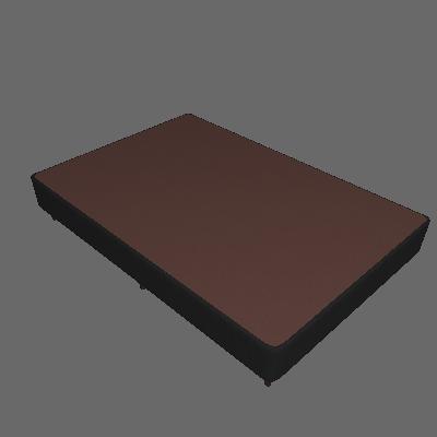 Base para Cama Box Viúva Linen (30x128x188) Preta - Ortobom