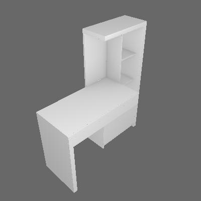 Escrivaninha Macaé 1 GV Branca - Tecno Mobili