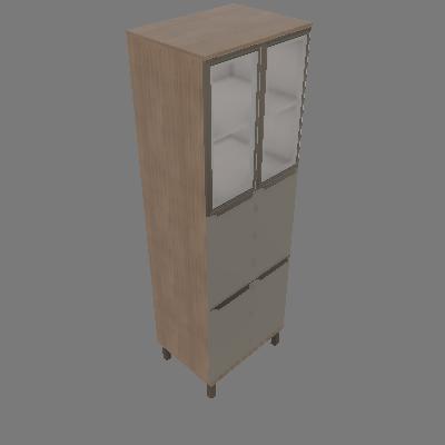 Paneleiro 6 Portas com Vidro Verace (PVE01)