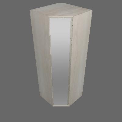 Roupeiro Canto Diagonal Espelho 838mm 1 Porta (14)