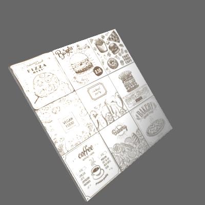 Revestimento Decorativo Cerâmica Food White 20,3x20,3cm Artens (89915161)