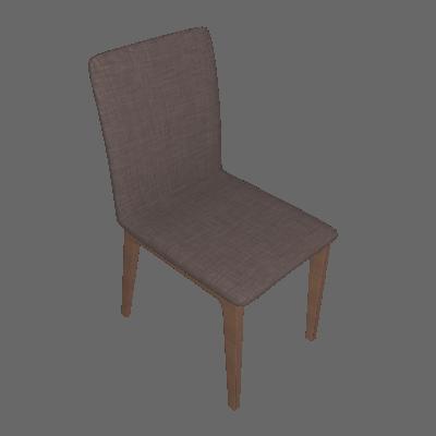 Conjunto com 2 Cadeiras Marina Avelã e Marrom - Brigatto