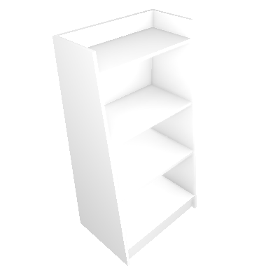Estante Montessoriano II Branca - Art in Móveis