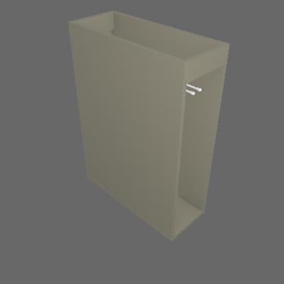 Balcão Porta Toalha 200 mm (C65)