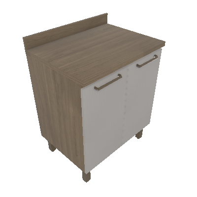 Balcão 70cm - 02 Portas (RZ1102)