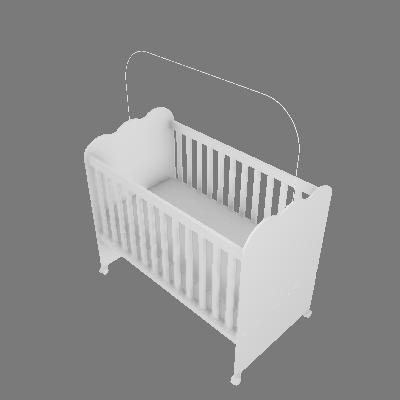 Berço Nuvem de Algodão Mini-cama (I12)