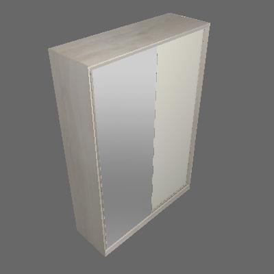 Roupeiro Correr Espelho 1592mm 2 Portas (11)