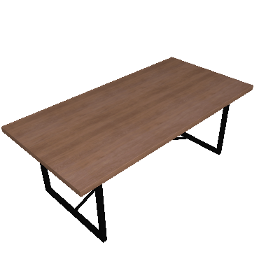 Mesa de Jantar Retangular Steel Arizona 200 cm - Artesano