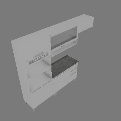 Cozinha Compacta Fluence 8 PT 2 GV Branca