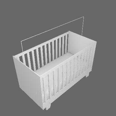Berço Minicama Life Branco - Tigus Baby