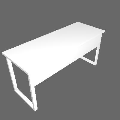 Mesa Diretor 1,60m Pé Aço (MDF166PA - 7556)