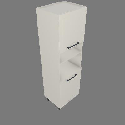 Torre Multiuso 01 Porta Vertical e 01 Horizontal (TM60-1P-1PH)