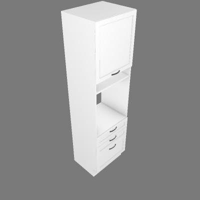 Coluna Forno 1 Porta 3 Gavetas 60cm (G26555)