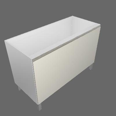 Balcão 1200mm 2 Portas (3501)