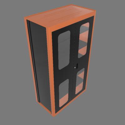 Armário vertical com visores (44955/020)