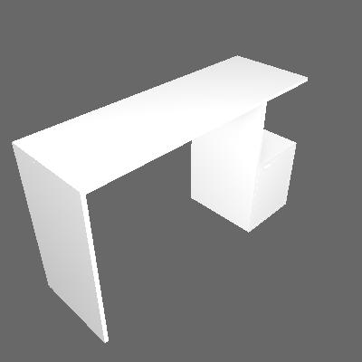 Penteadeira Oslo Branca - BRV Móveis