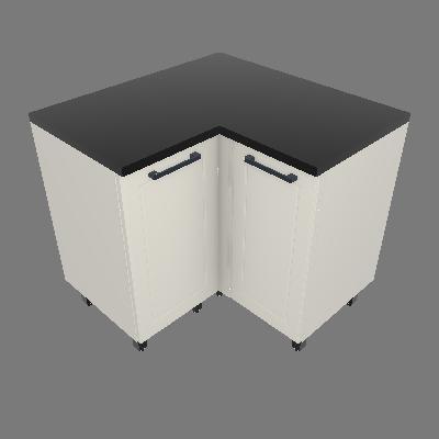 Gabinete de Canto 02 Portas (GC90°-2P)