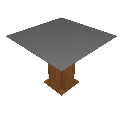 Mesa de Jantar Quadrada Sophia Savana 100cm - Cimol