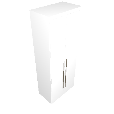 Guarda-Roupa Modulado Tijuana 2 PT branco 80 cm