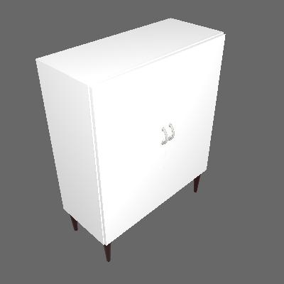 Armário de Escritório KitCubos 2 PT Branco