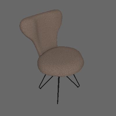 Cadeira Jacobsen Butterfly Linho Marron - Daf
